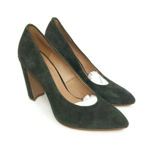 Madewell Size 6 The Hanne Heel In Brunswick Green